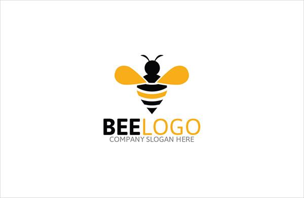Best Queen Bee Logo Template