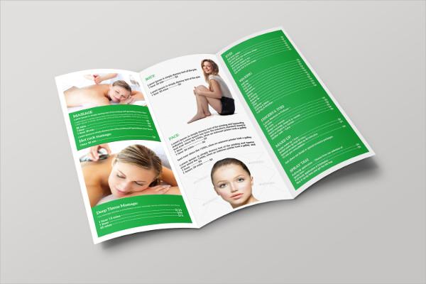PSD Spa Brochure Template