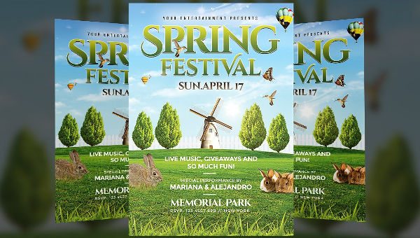 35+ Spring Flyer Templates