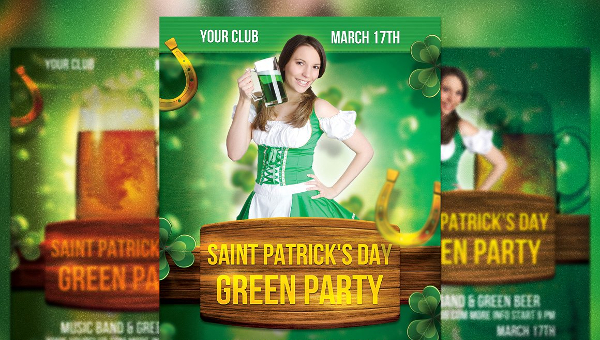 St Patricks Day Flyer Templates