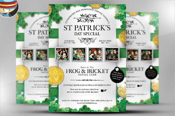 St. Patrick's Day Special Flyer Template