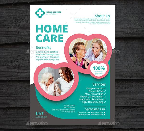 Home Care Flyer Magdalene Projectorg