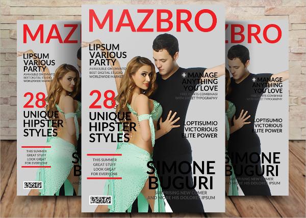 Unique Lifestyle Magazine Template