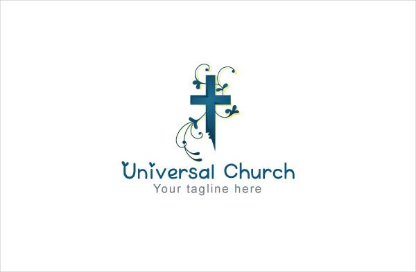 Universal Church Religious Stock Logo Template