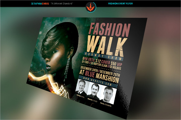 Urban Fashion Flyer Photoshop Template