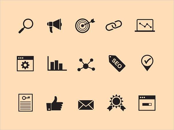 15 SEO Vector Icons