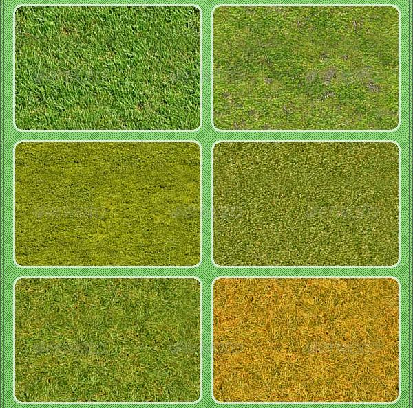 20 Tileable Grass Textures