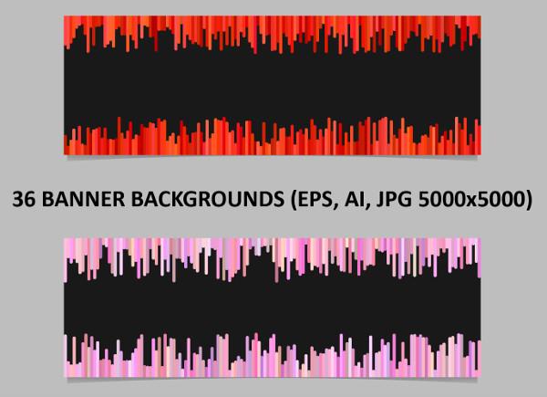 36 Banner Backgrounds Design HD