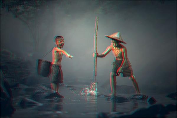 Magic 3D Photoshop Actions