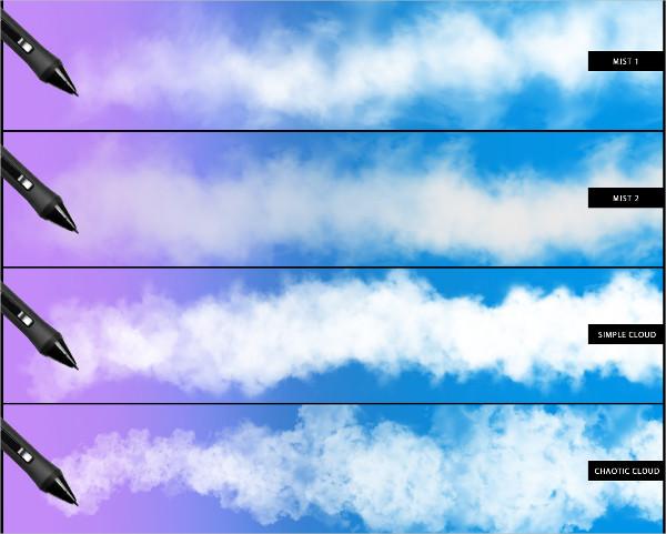 Storm Cloud Brushes Photoshop