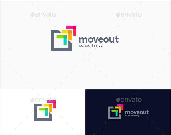Abstract Growth Arrow Logo Template