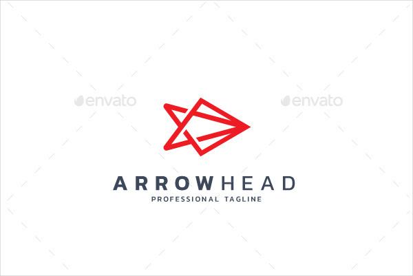Arrow Head Logo Template