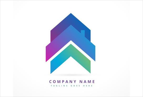Arrow House Business Logo Design Free