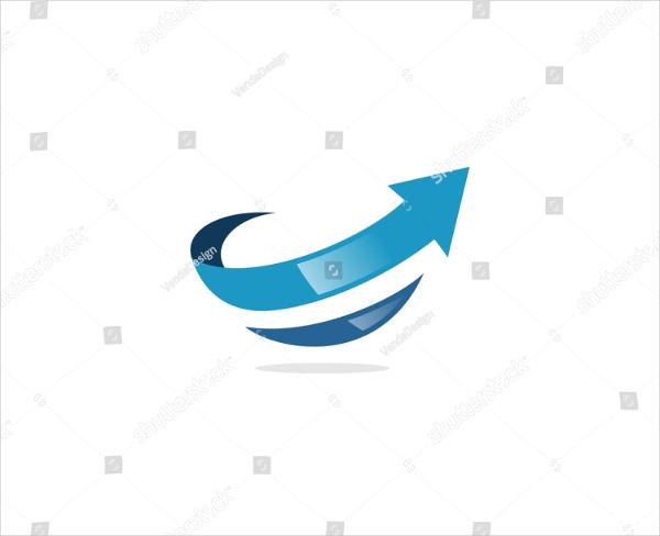 Arrow Vector Design Logo Template