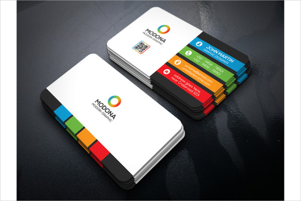 Attractive Colorful Business Card