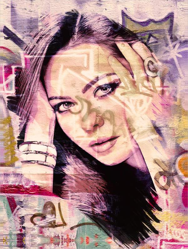Attractive Graffiti Effects Action