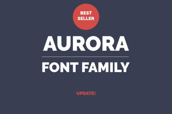 Aurora Professional Fonts Family