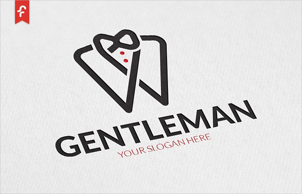 Awesome Gentleman Logo Design