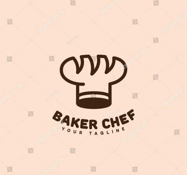 Chef Vector Design Logo Template
