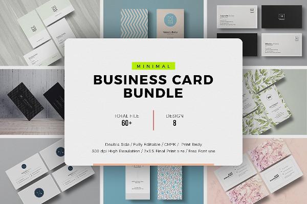 Best Ever Minimal & Clean Business Card Bundle
