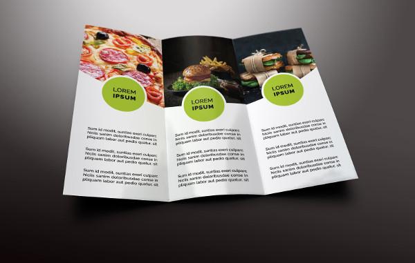 Best Fast Food Tri-Fold Brochures