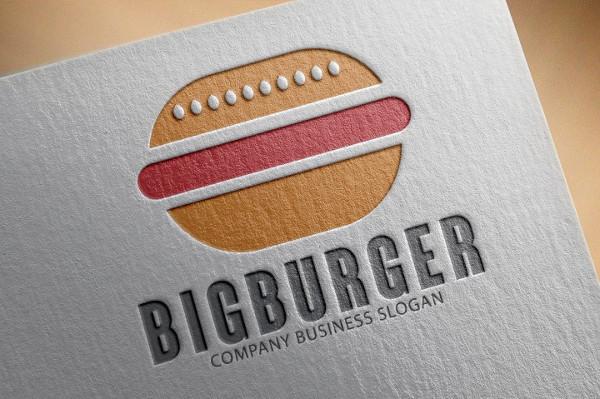 Big Burger Company Logo
