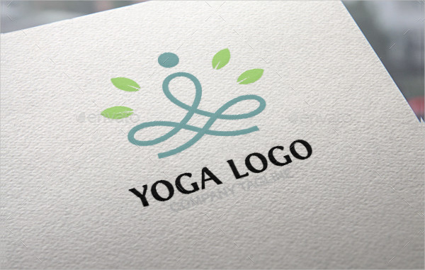 Branding Yoga Logo Template