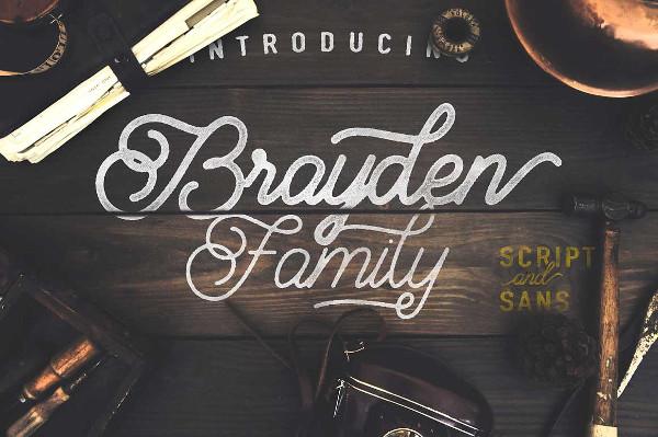 Brayden Family Font