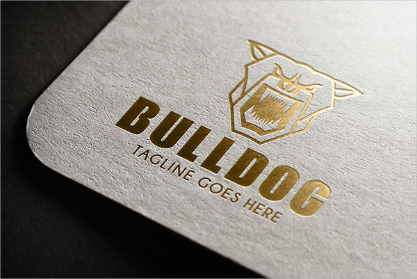 Bull Dog Logo Template
