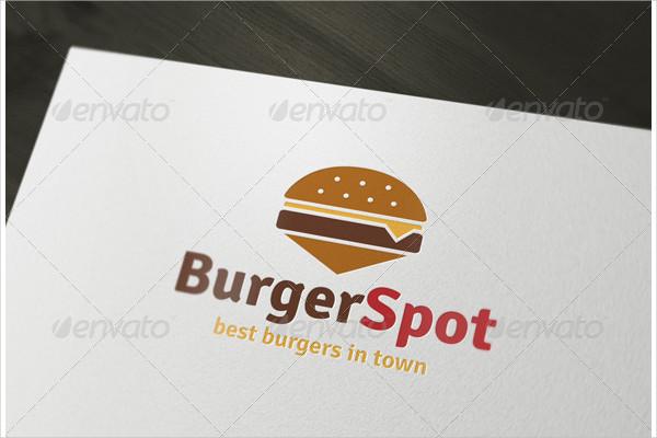 Burger Spot Logo Design