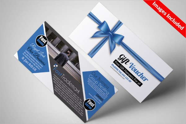 Business Corporate Gift Vouchers Template
