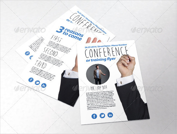 Business Training Course Flyer Template