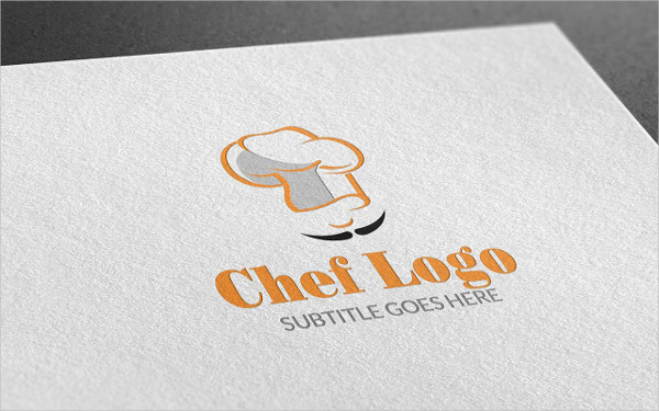 Fully Editable Chef Style Logo Template