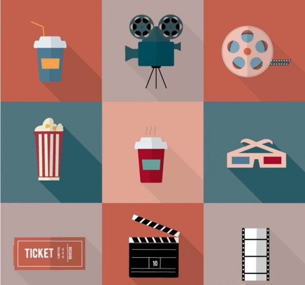 Cinema Icons Free Download