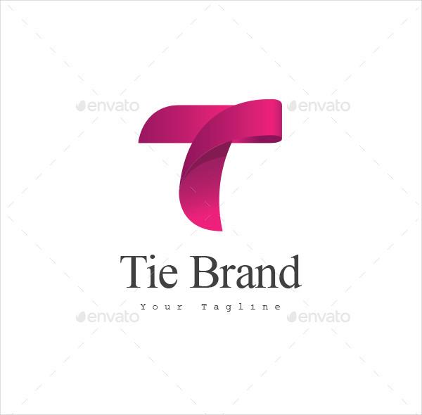 Classic Tie Brand Logo Template