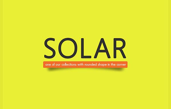 Clean Solar Font