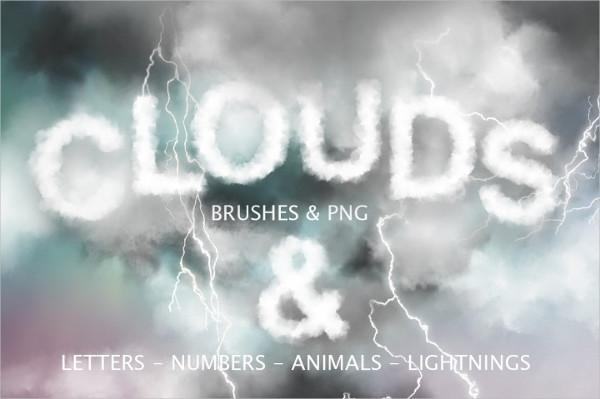Cloud Graphics & Photoshop Brush Set