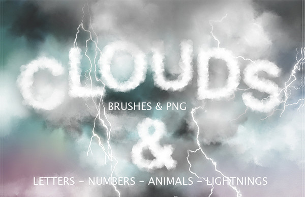 Cloud PS Brush & Graphics Pack