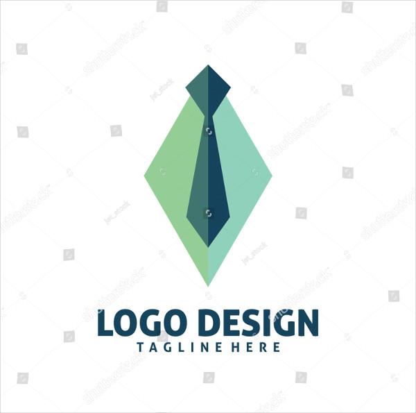 Colorful Tie Logo Design