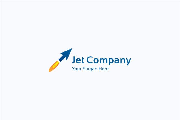 Company Logos with Arrow