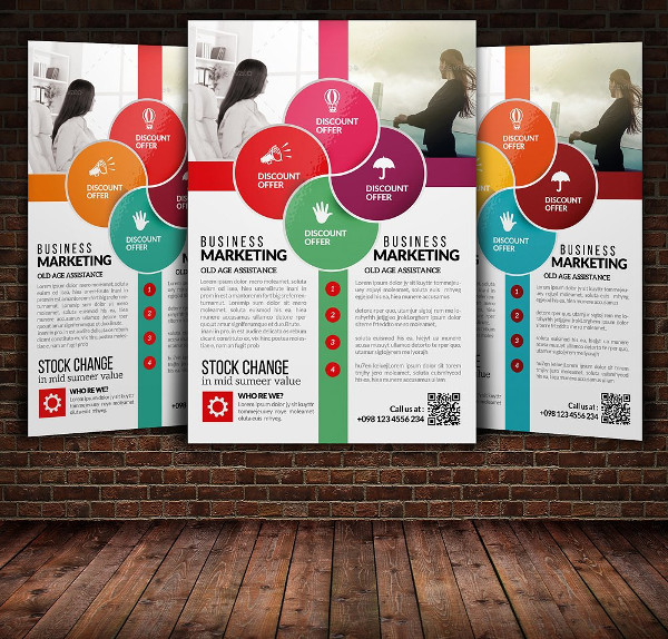 Stylish Business Training Flyer Template