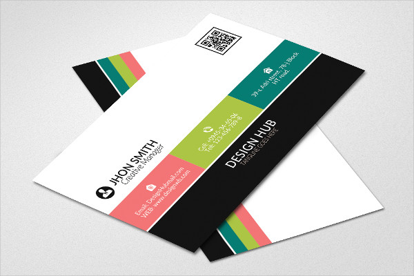 Cute Colorful Business Card