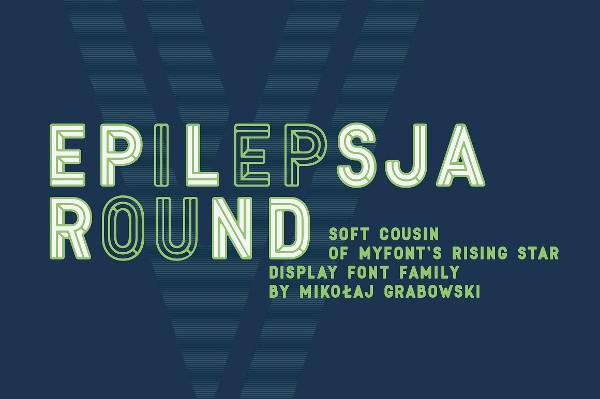 Colorful Round Type Family Font