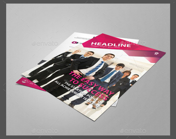 Corporate Business and Training Flyer Template
