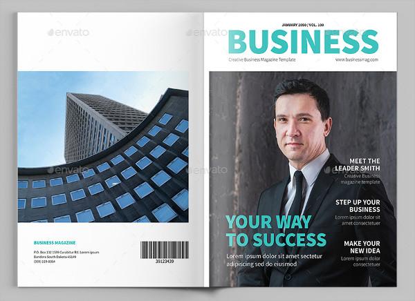 Corporate Magazine Template Download