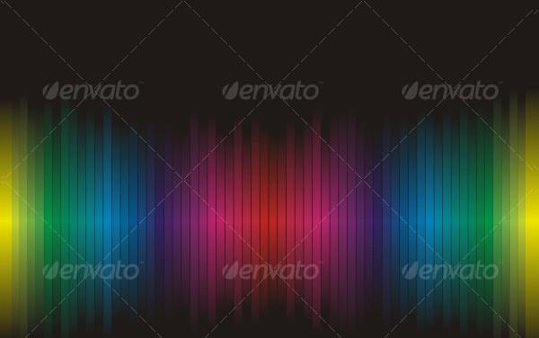 Clean Rainbow Backgrounds Vector