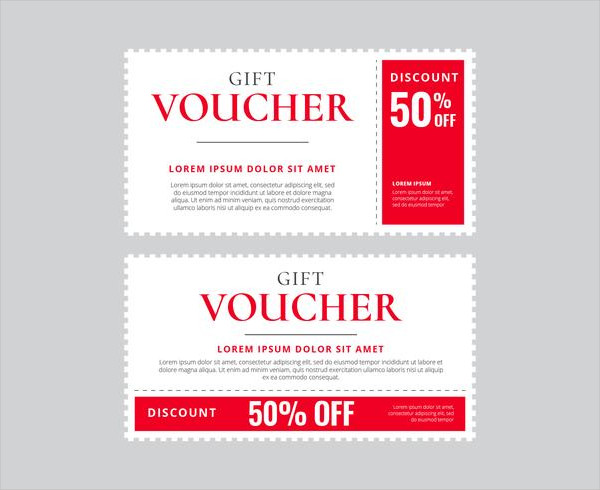 Coupon Vector Template Free Download