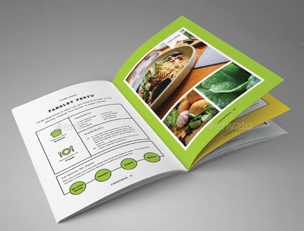 Creative Food Business Brochure Template