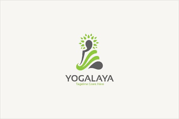 Creative Yoga Class Logo Design