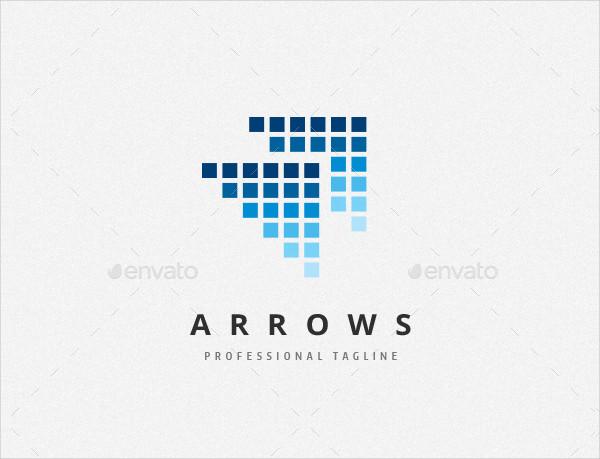 Data Arrows Logo Design